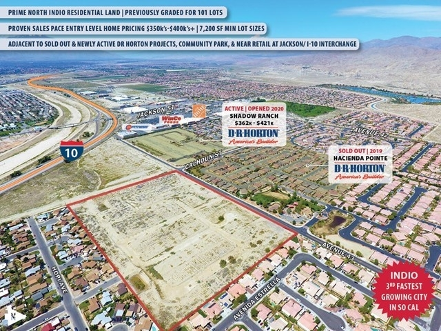 Land for Sale at Indio, CA 92203