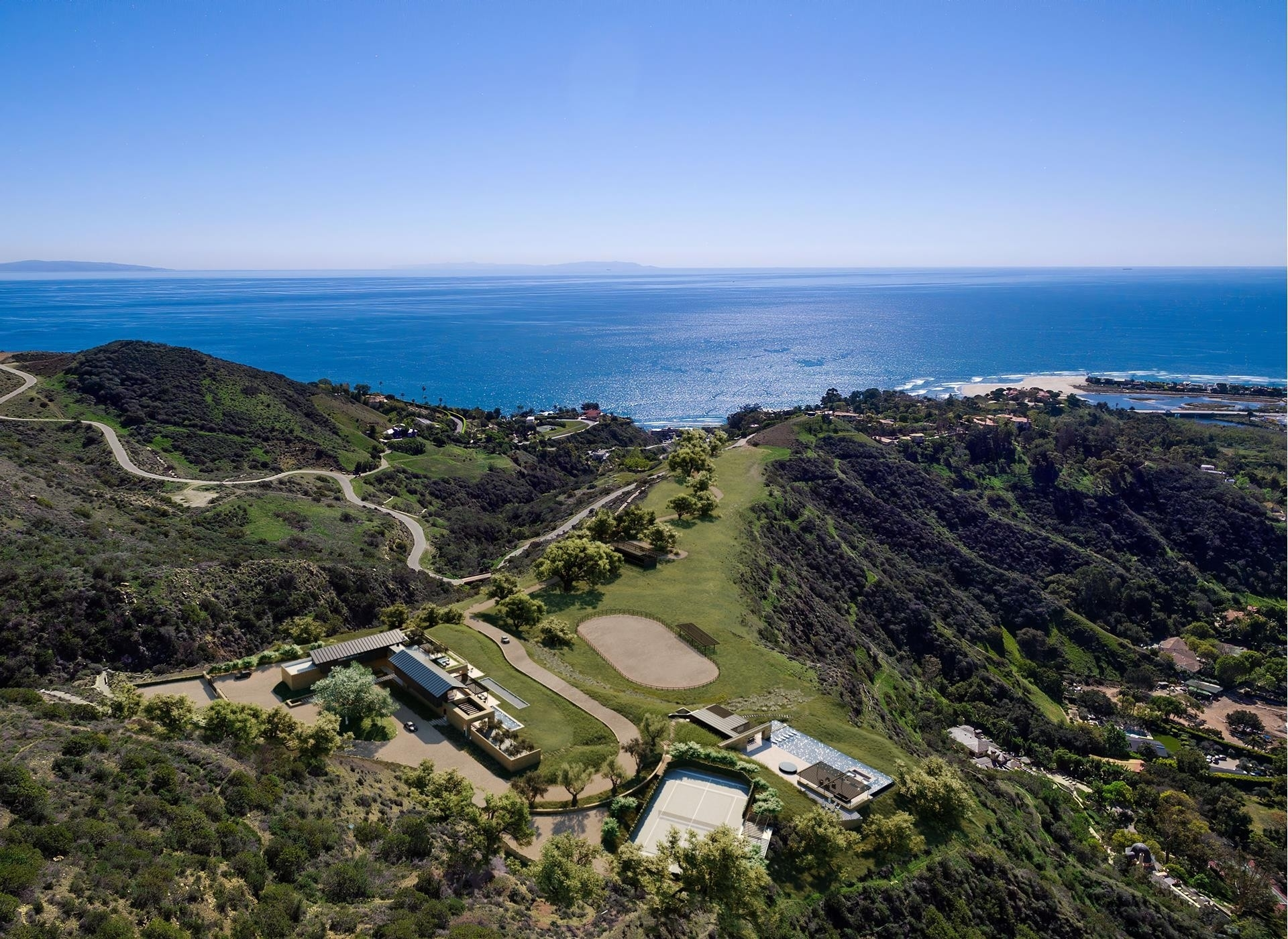 土地 為 特賣 在 Serra Retreat, Malibu, CA 90265