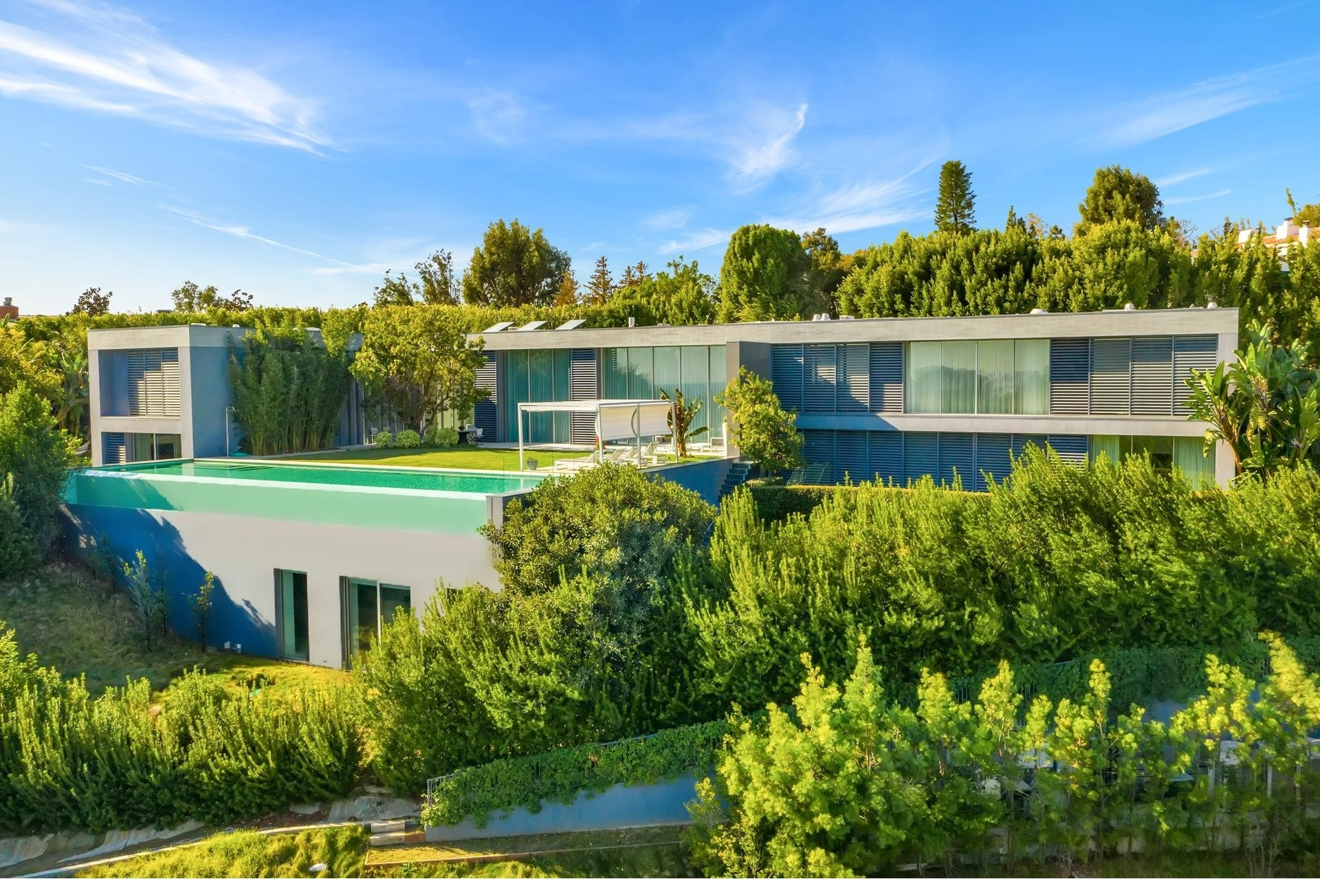 1. Single Family Homes для того Продажа на Bel Air, Лос-Анджелес, CA 90077