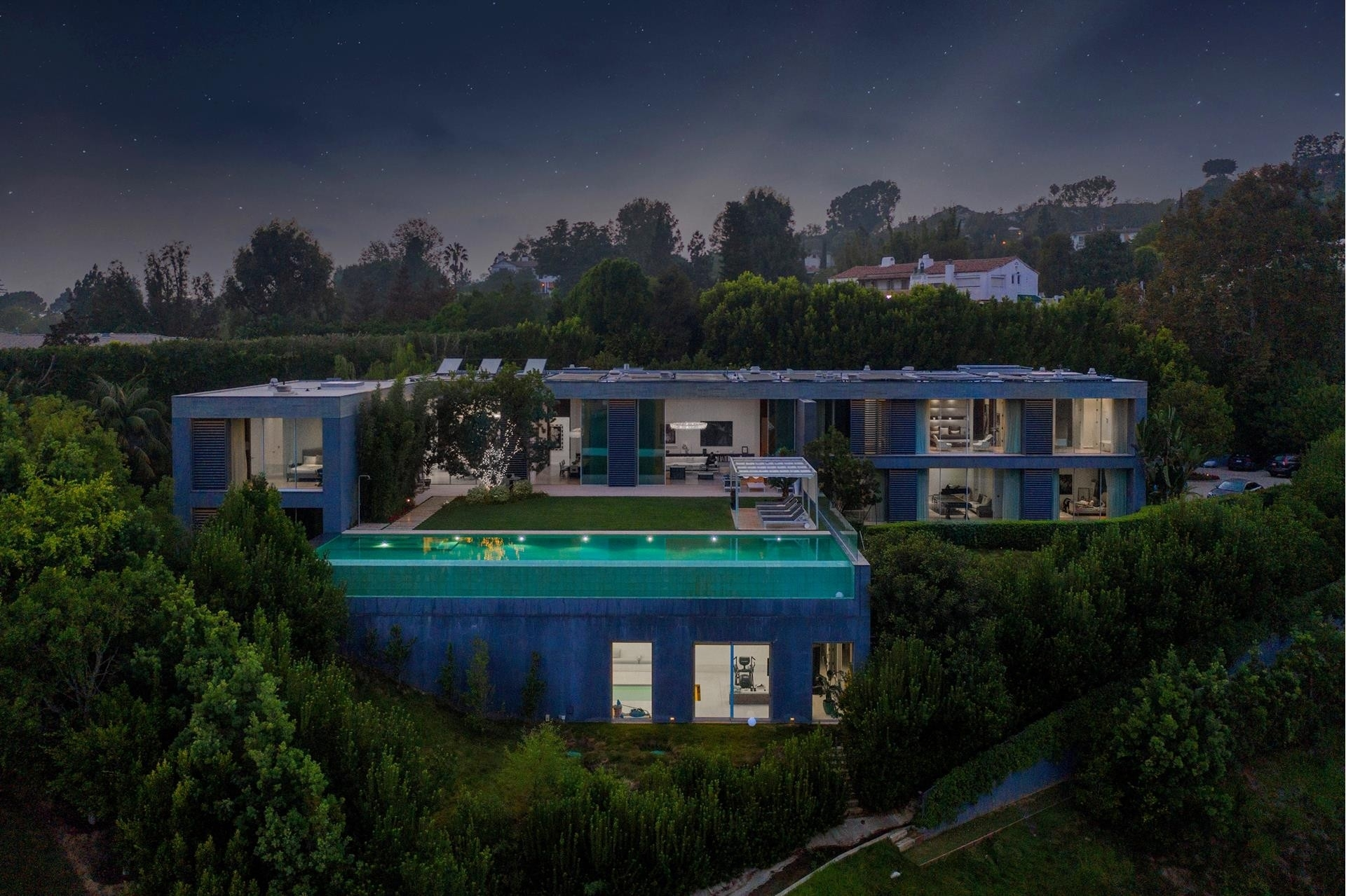 2. Single Family Homes для того Продажа на Bel Air, Лос-Анджелес, CA 90077