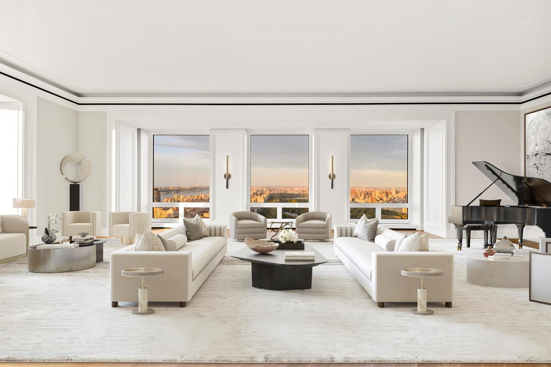 Condominium для того Продажа на 220 CPS, 220 CENTRAL PARK S, 54/55A Central Park South, New York, NY 10019