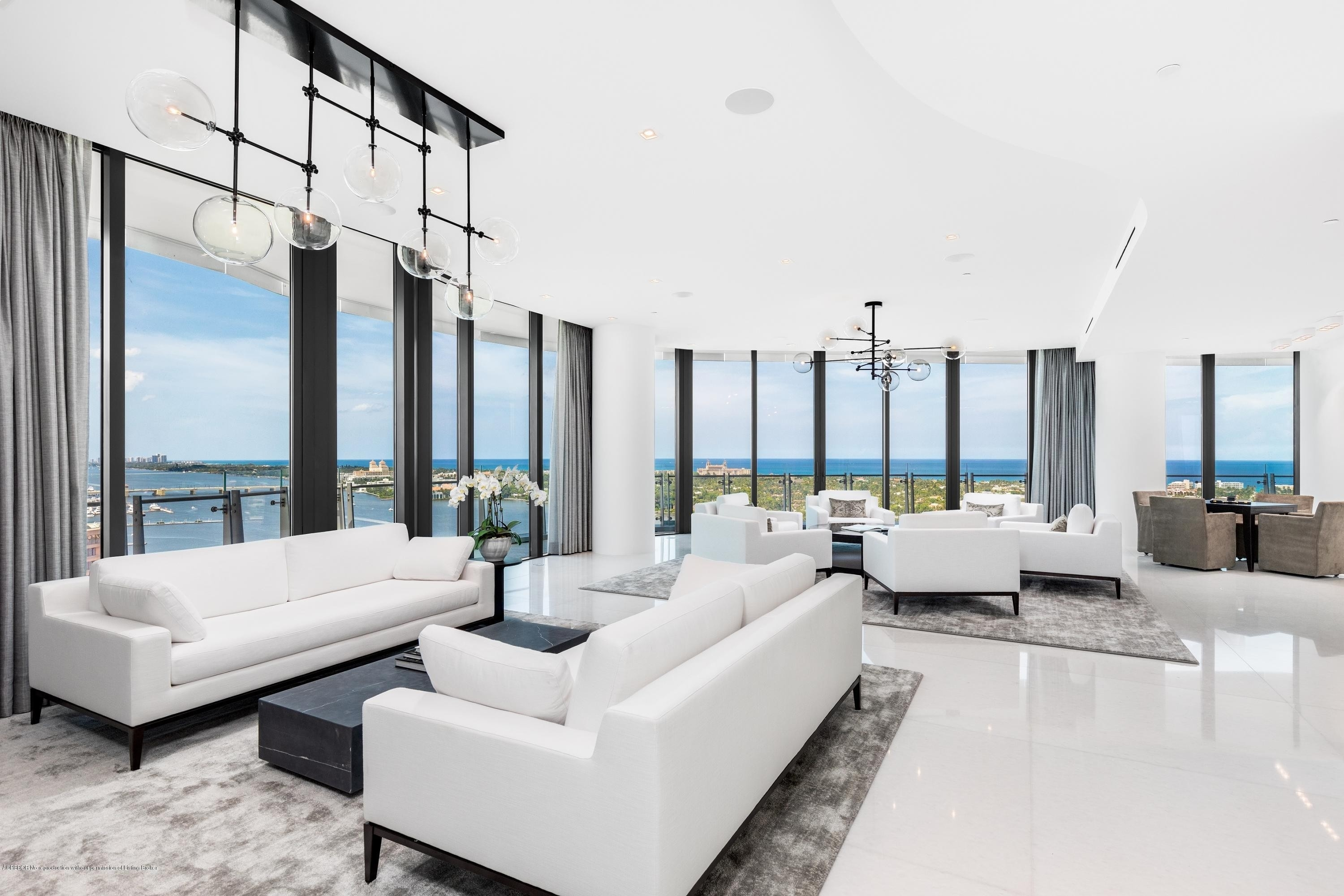 Condominium для того Продажа на 1100 S Flagler Drive, 2101-2102 Southend, West Palm Beach, FL 33401