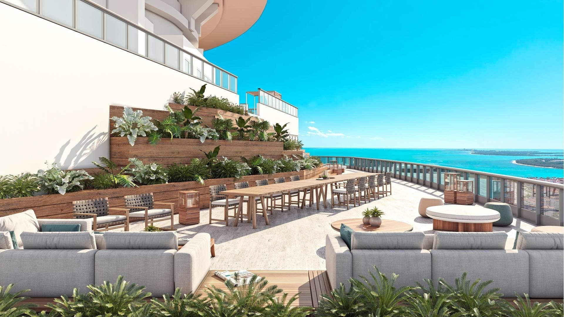 11. Condominiums 為 特賣 在 100 S Pointe Drive , PH2 South Point, Miami Beach, FL 33139