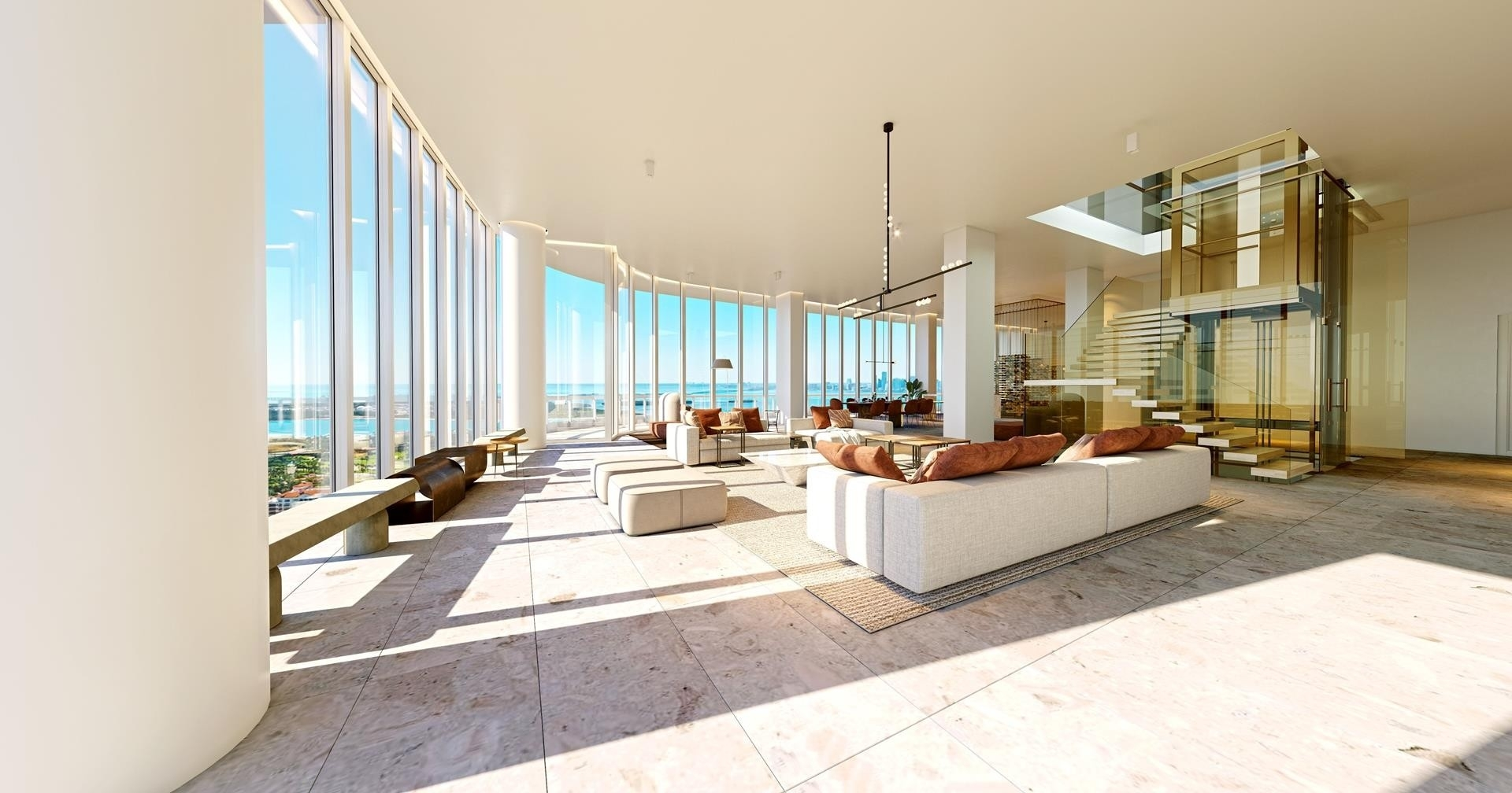 3. Condominiums 為 特賣 在 100 S Pointe Drive , PH2 South Point, Miami Beach, FL 33139