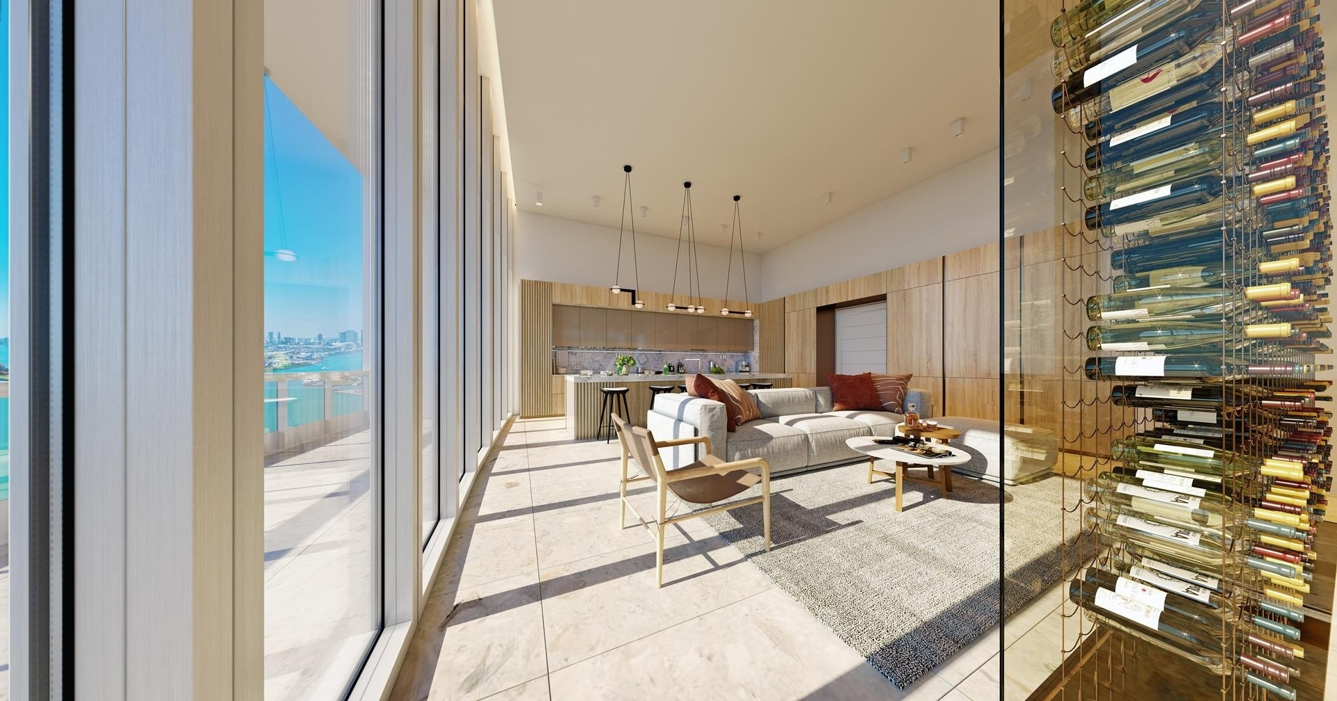 5. Condominiums 為 特賣 在 100 S Pointe Drive , PH2 South Point, Miami Beach, FL 33139