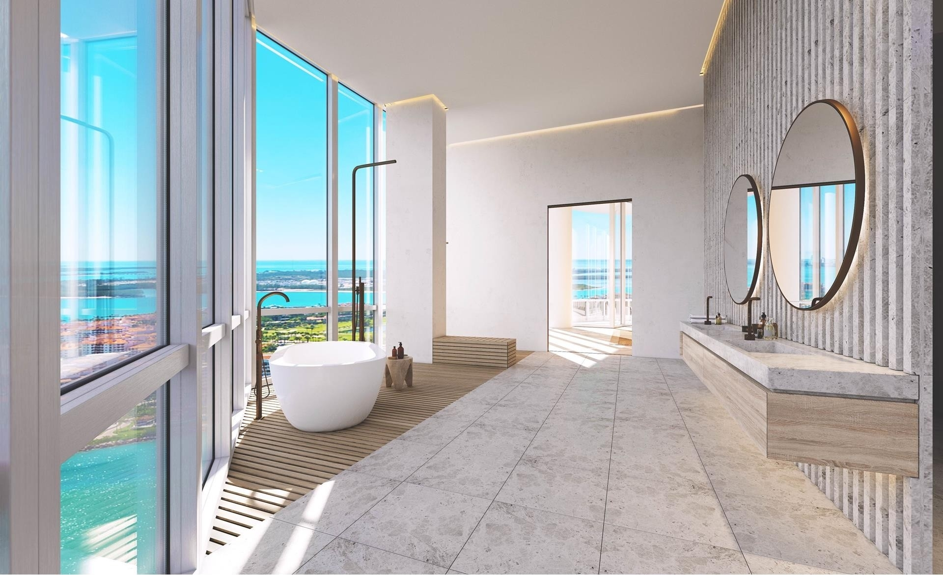 9. Condominiums 為 特賣 在 100 S Pointe Drive , PH2 South Point, Miami Beach, FL 33139