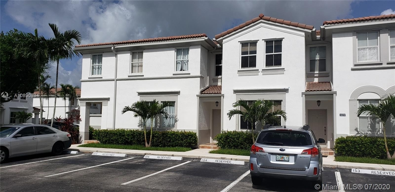 Single Family Townhouse for Sale at 4292 SW 156th Ave , 154 Country Lakes, Miramar, FL 33027