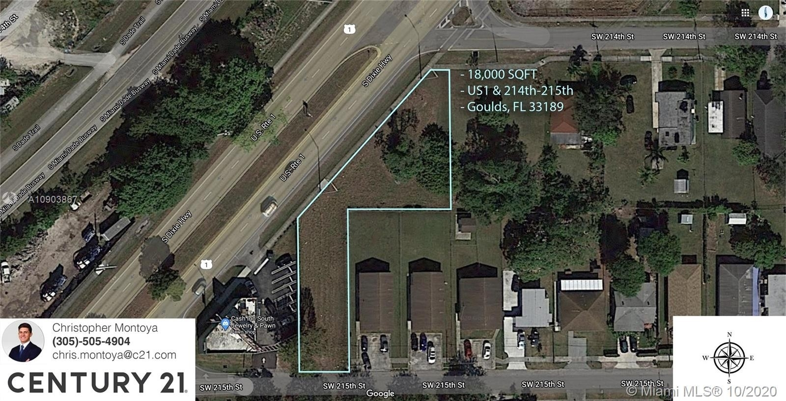 Commercial for Sale at Goulds, FL 33189