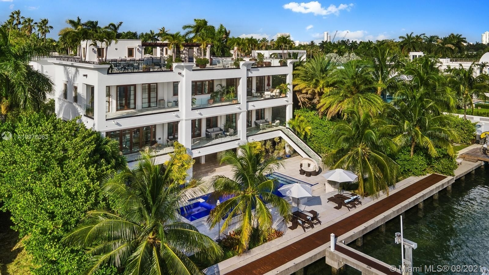 Single Family Home for Sale at Palm Island, Miami Beach, FL 33139