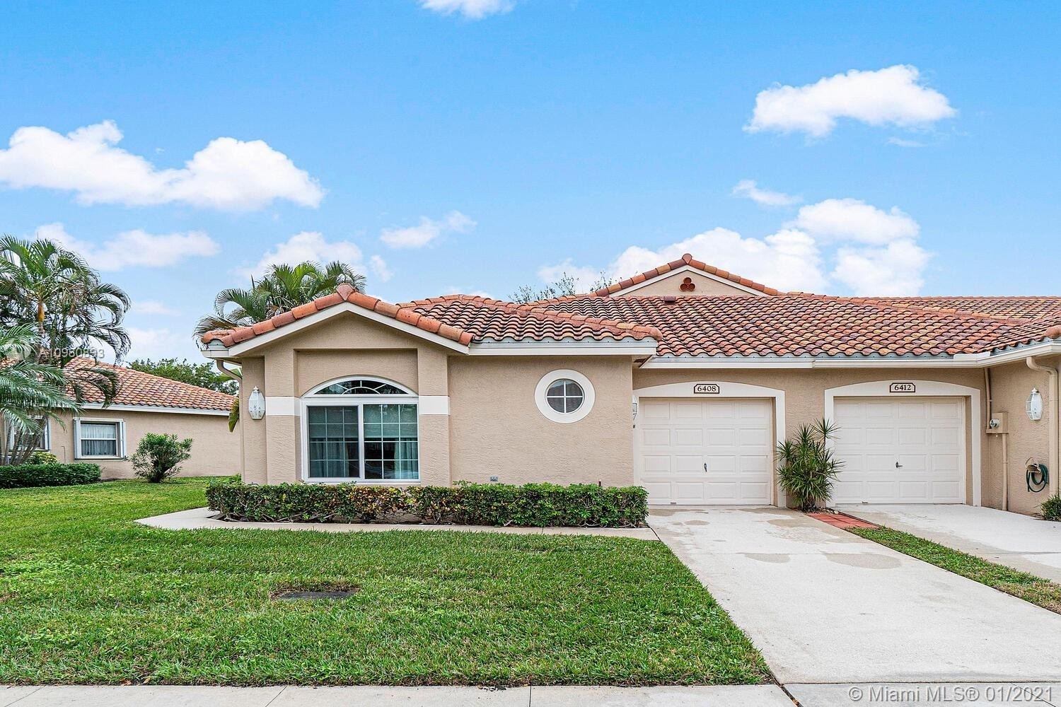 Single Family Townhouse for Sale at 6408 Long Key Ln , 1 Aberdeen, Boynton Beach, FL 33472