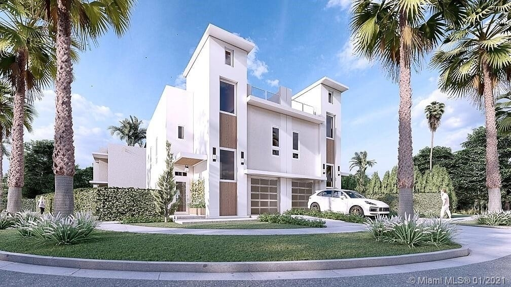 Single Family Townhouse for Sale at Golden Pines, Miami, FL 33133