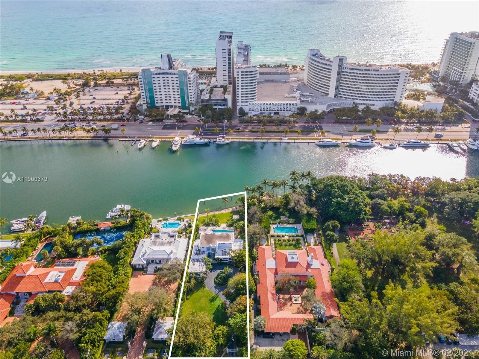 Single Family Home for Sale at Address Not Available Nautilus, Miami Beach, FL 33140