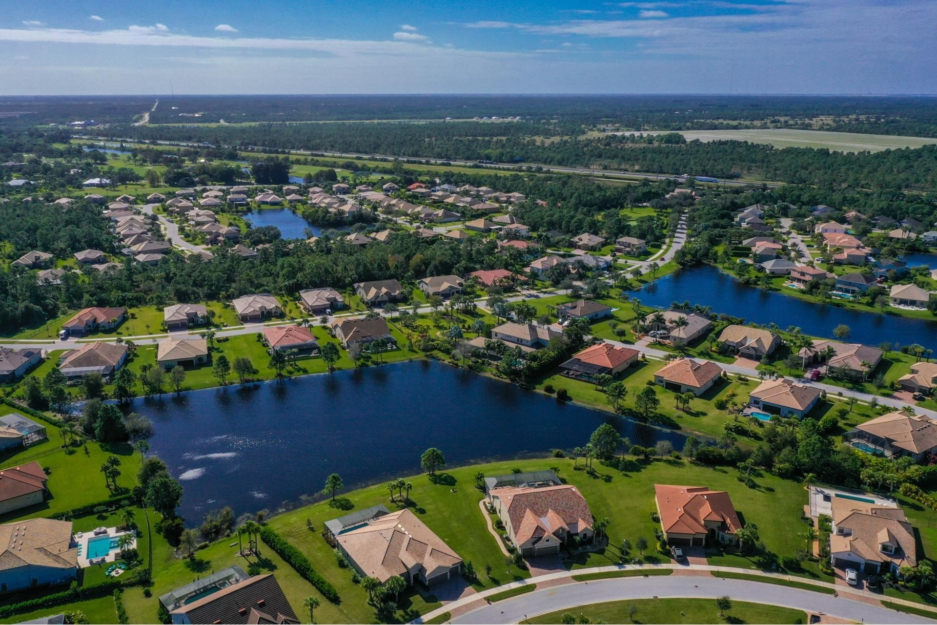 10. Single Family Homes por un Venta en Palm City, FL 34990