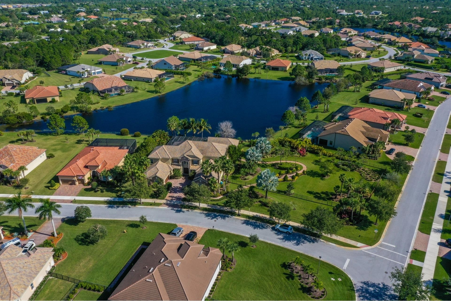 6. Single Family Homes por un Venta en Palm City, FL 34990