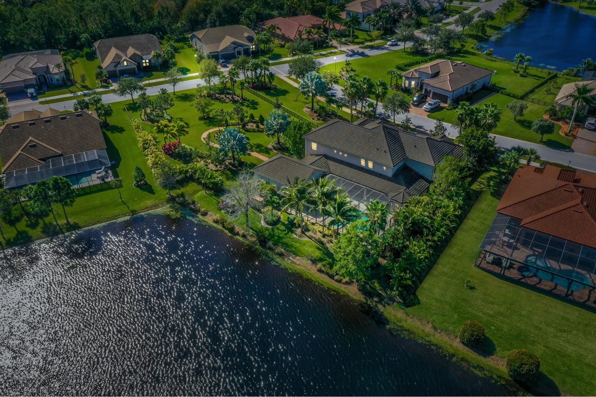 4. Single Family Homes por un Venta en Palm City, FL 34990