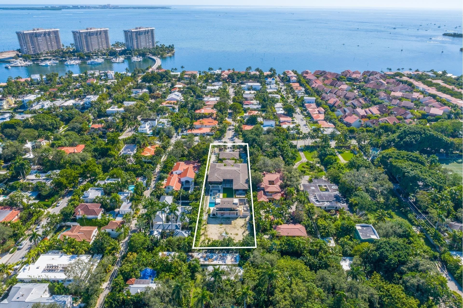 2. Single Family Homes for Sale at Northeast Coconut Grove, Miami, FL 33133