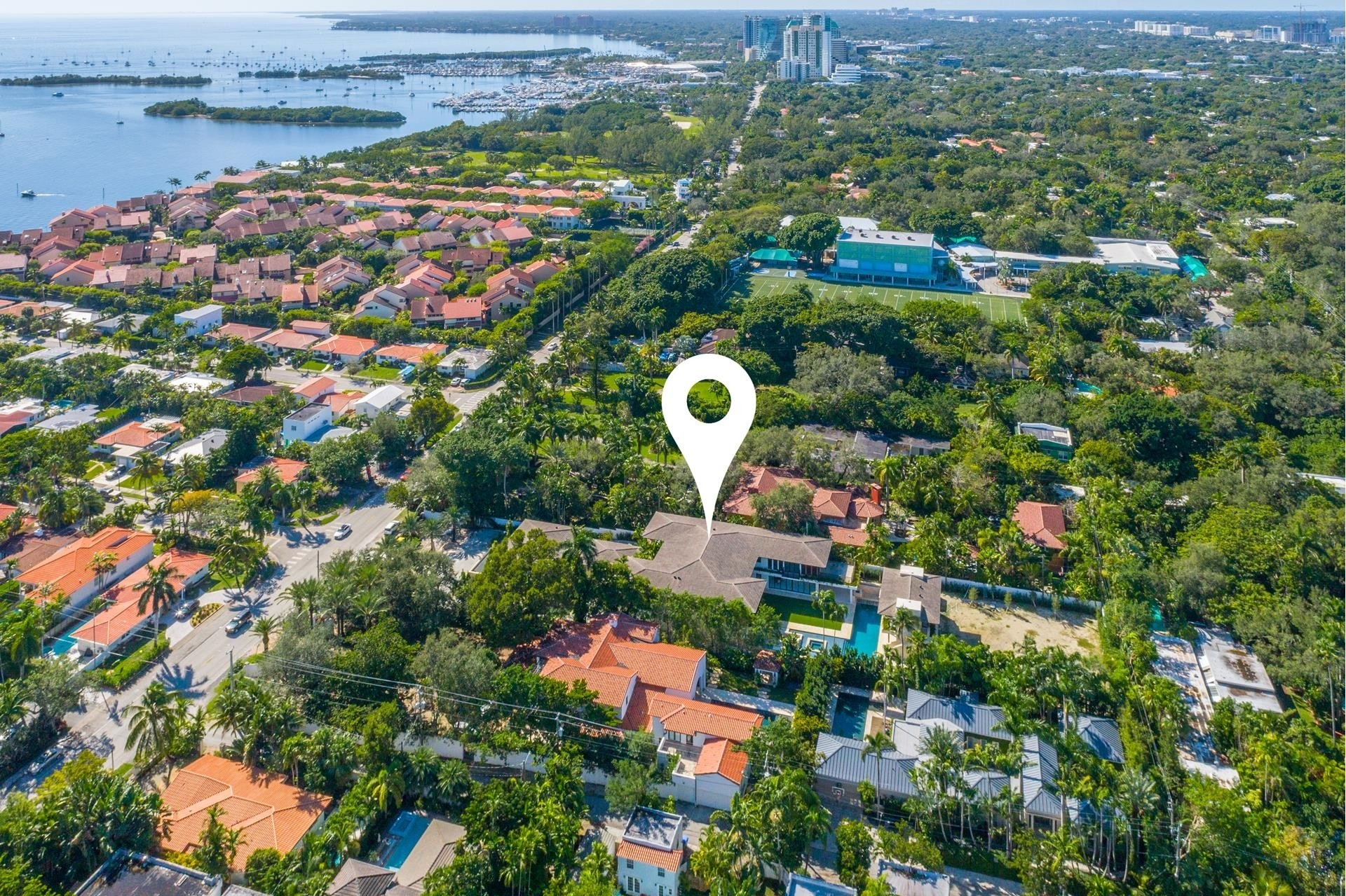 1. Single Family Homes for Sale at Northeast Coconut Grove, Miami, FL 33133