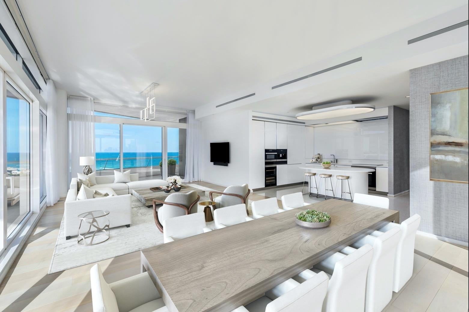 3. Condominiums 為 特賣 在 3315 Collins Ave , 9C Ocean Front, Miami Beach, FL 33140