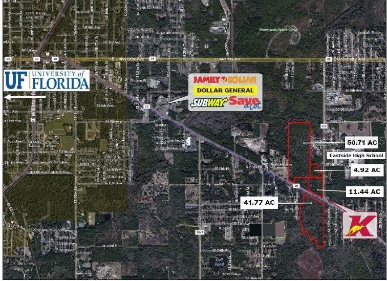 Land for Sale at East Gainesville, Gainesville, FL 32641