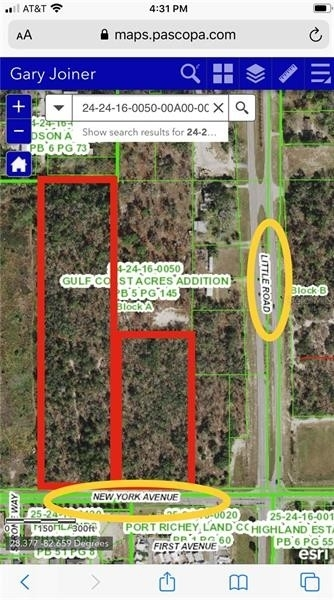 Land for Sale at Cape Cay, Hudson, FL 34667