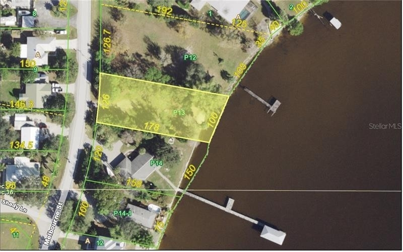 Terrain pour l Vente à Melbourne District, Port Charlotte, FL 33980
