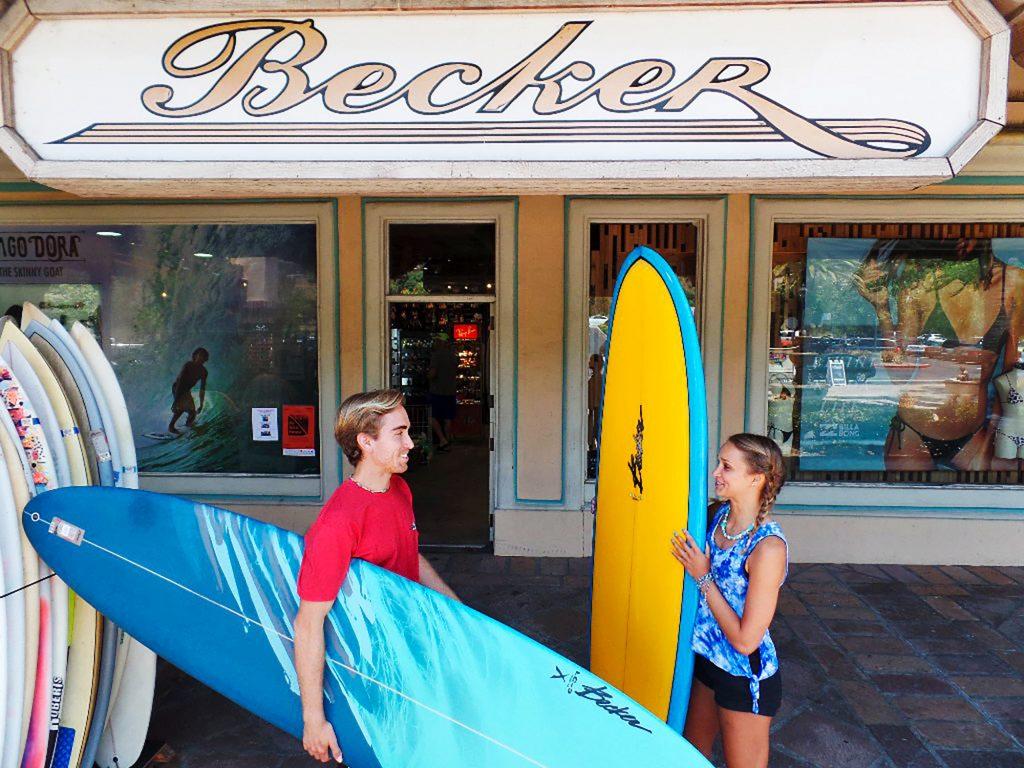 Malibu - Becker Surfboards