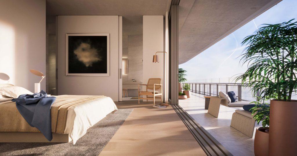 Eighty Seven Park bedroom