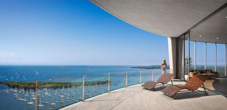 Park Grove Miami terrace