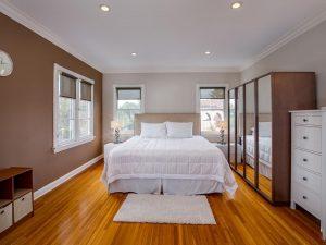 Downtown LA home bedroom
