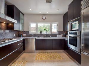 Downtown LA home kitchen