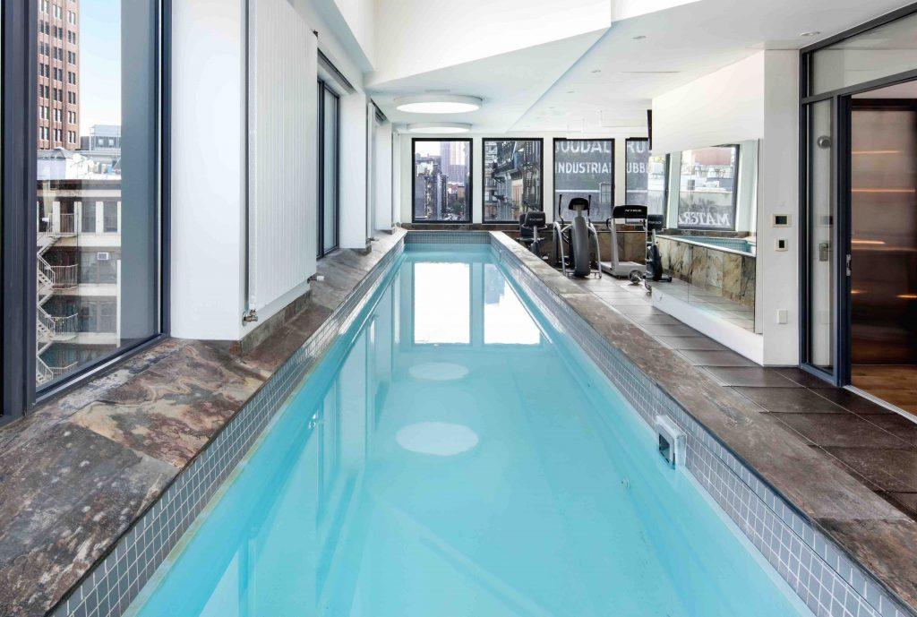 2 North Moore St - indoor pools