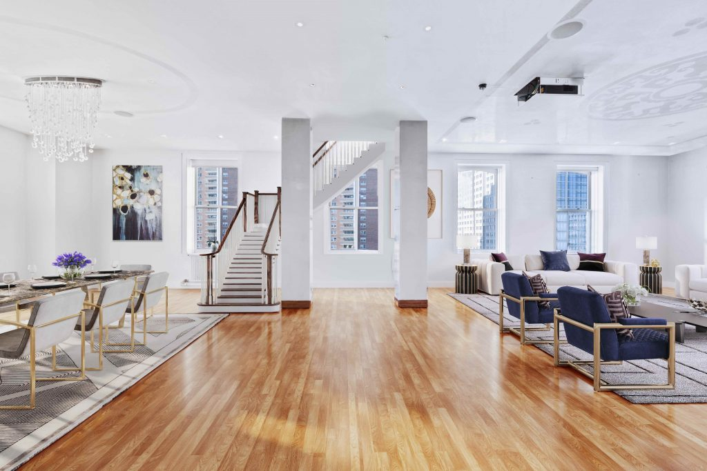 Homes for Art Collectors - 105 Hudson St PH11S, Tribeca