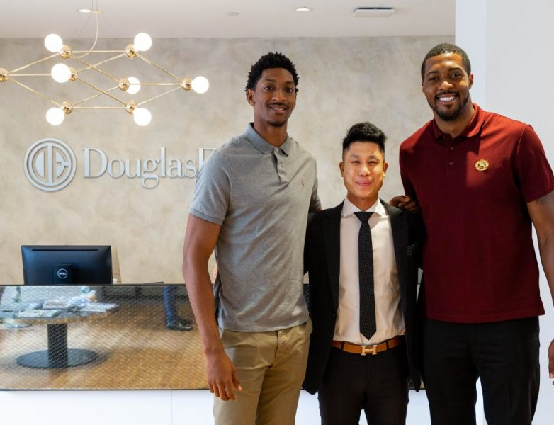 Miller and Favors met with Ace Watansuparp, Executive Vice President of Citizens bank, at Elliman's newest downtown office at 111 Fifth Avenue to cover the details to consider when financing a real estate project.