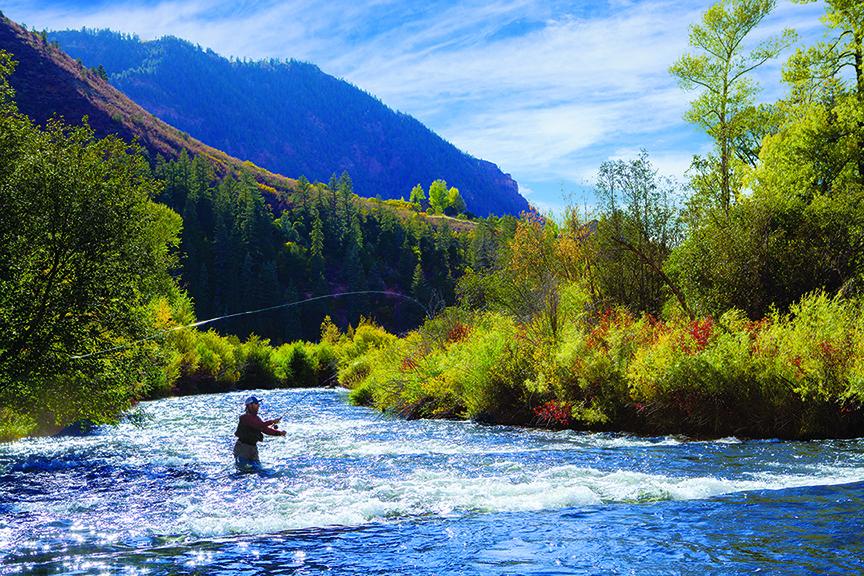 Fly Fishing Aspen Colorado