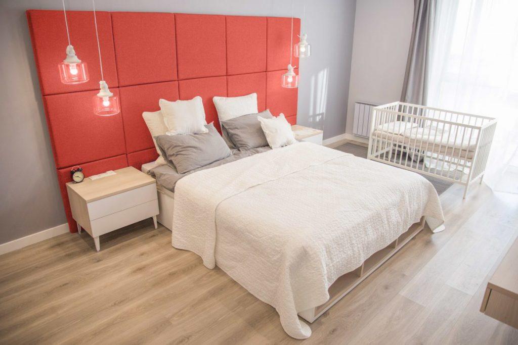 Living Coral Bedroom