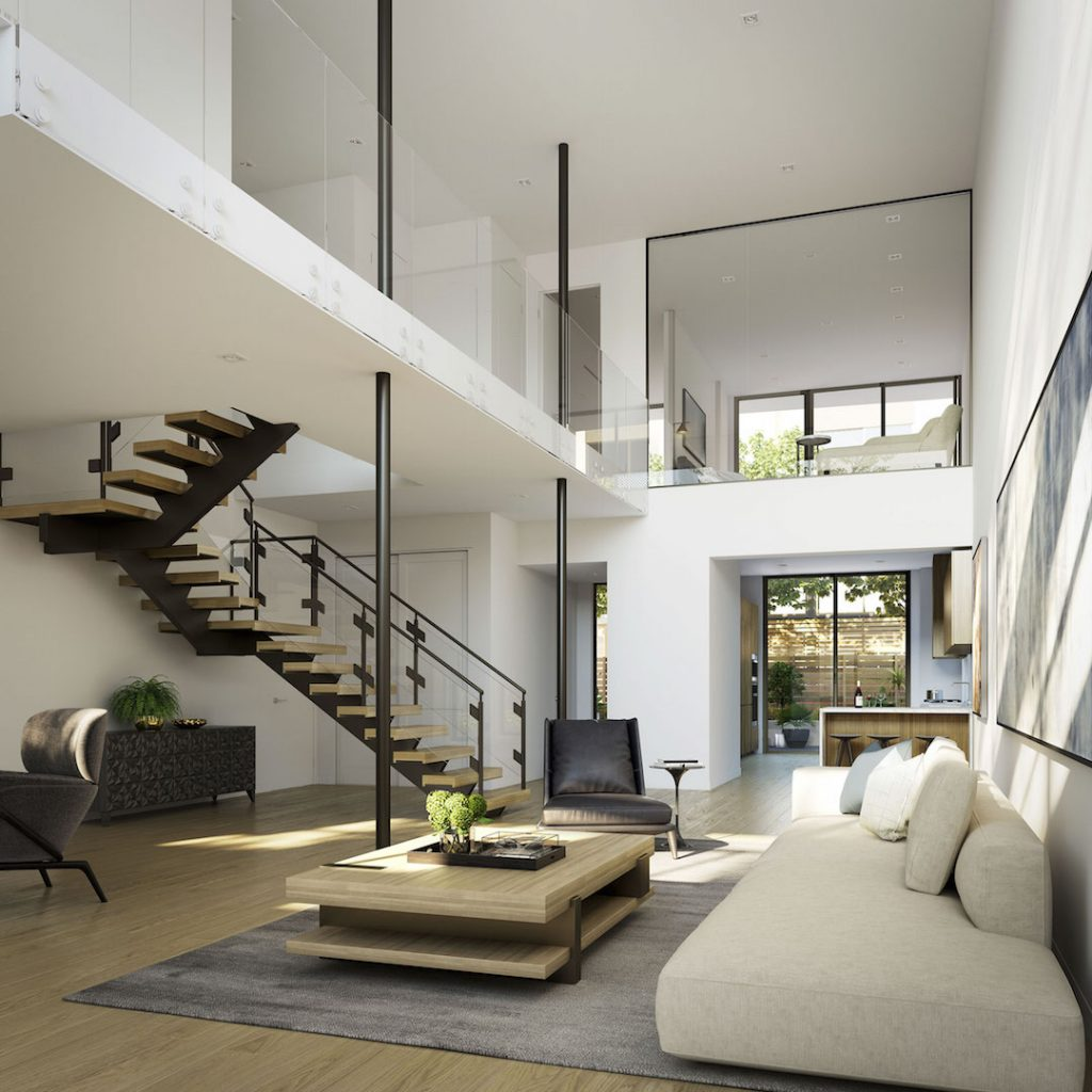 The Harland interiors