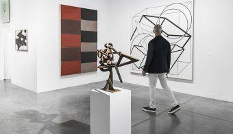 Works on display in the Berggruen Gallery