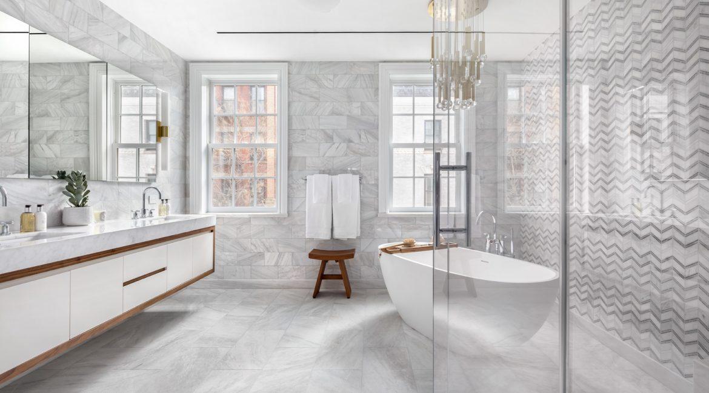 59 Middagh St Brooklyn Heights Master Bathroom