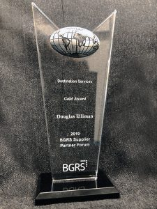 Elliman wins Gold Award for Destination Services from BGRS
