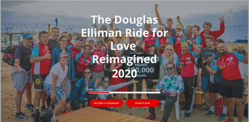 Douglas Elliman Ride for Love