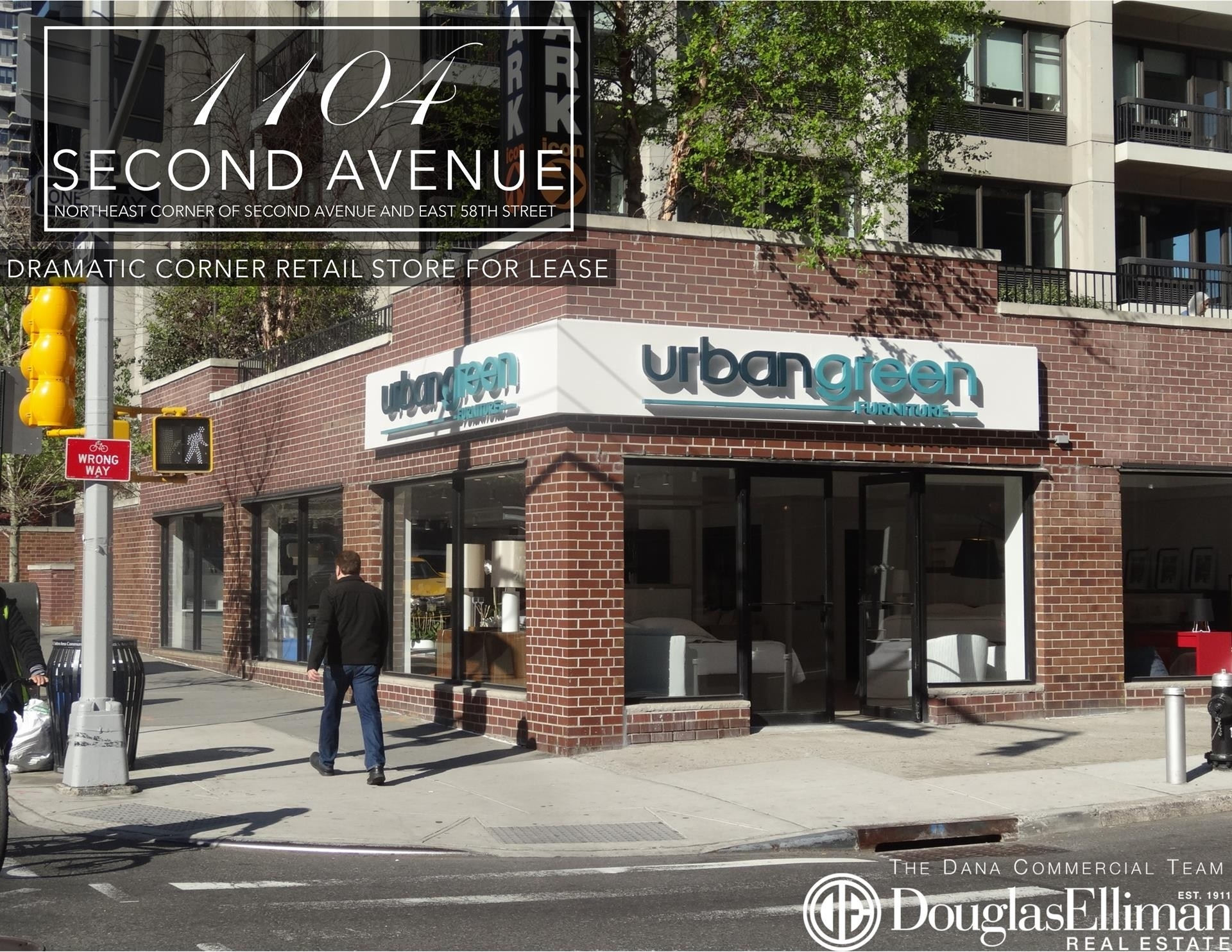 Retail Leases at 1104 Second Avenue, GROUND Midtown East, New York, NY 10022