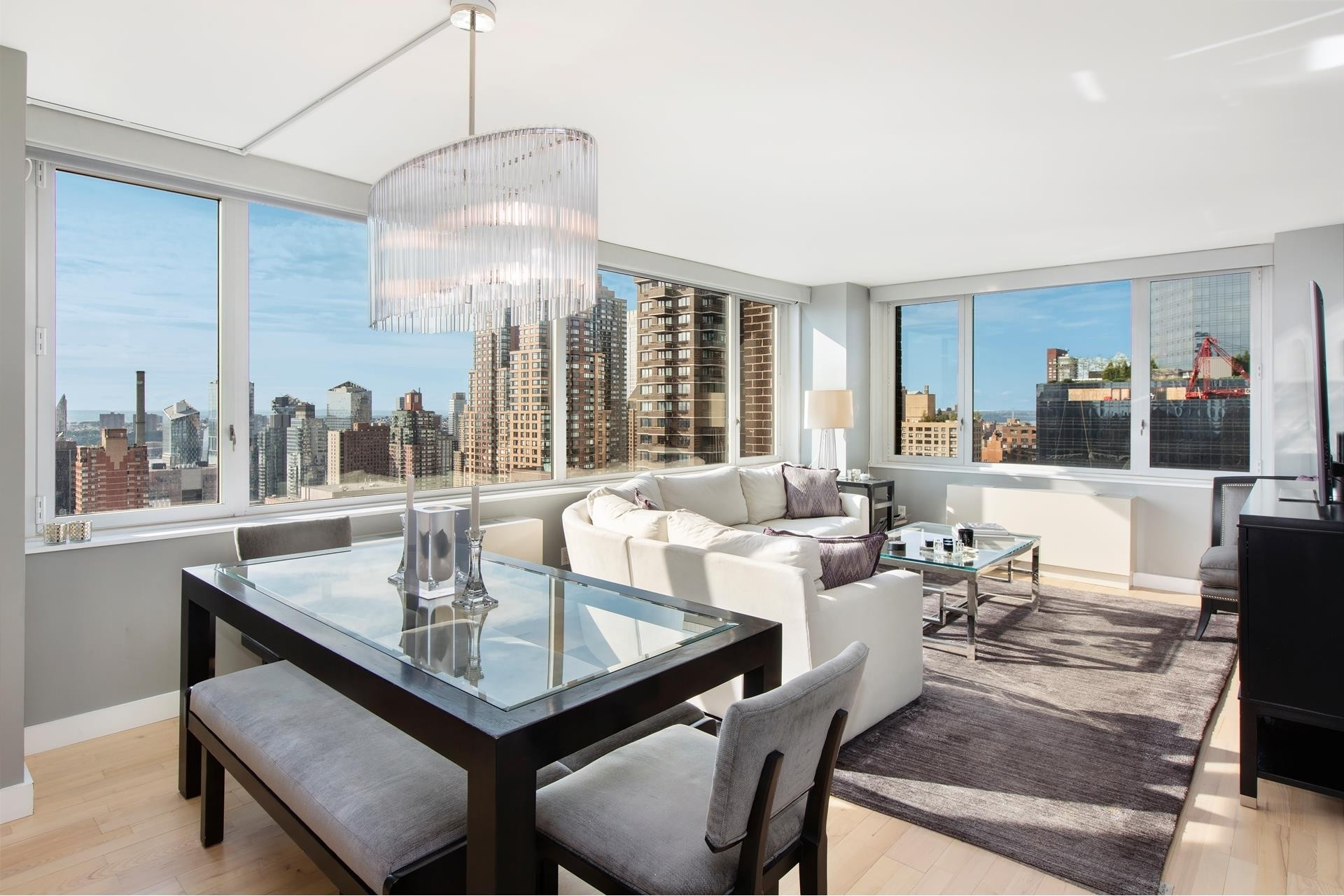 Property at 322 West 57th St, 44D2 Hell's Kitchen, New York, NY 10019
