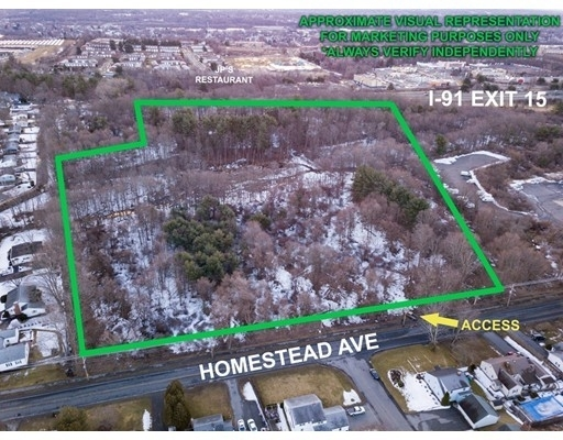 Land for Sale at Homestead Avenue, Holyoke, MA 01040