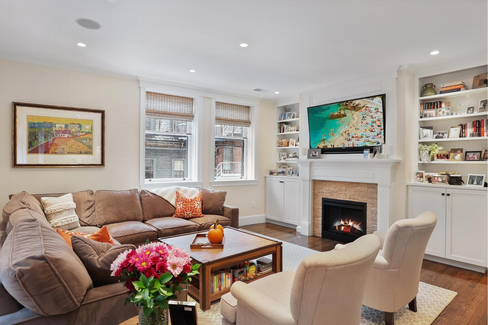Condominium for Sale at 82 Chestnut St , 20 Flat of the Hill, Boston, MA 02108