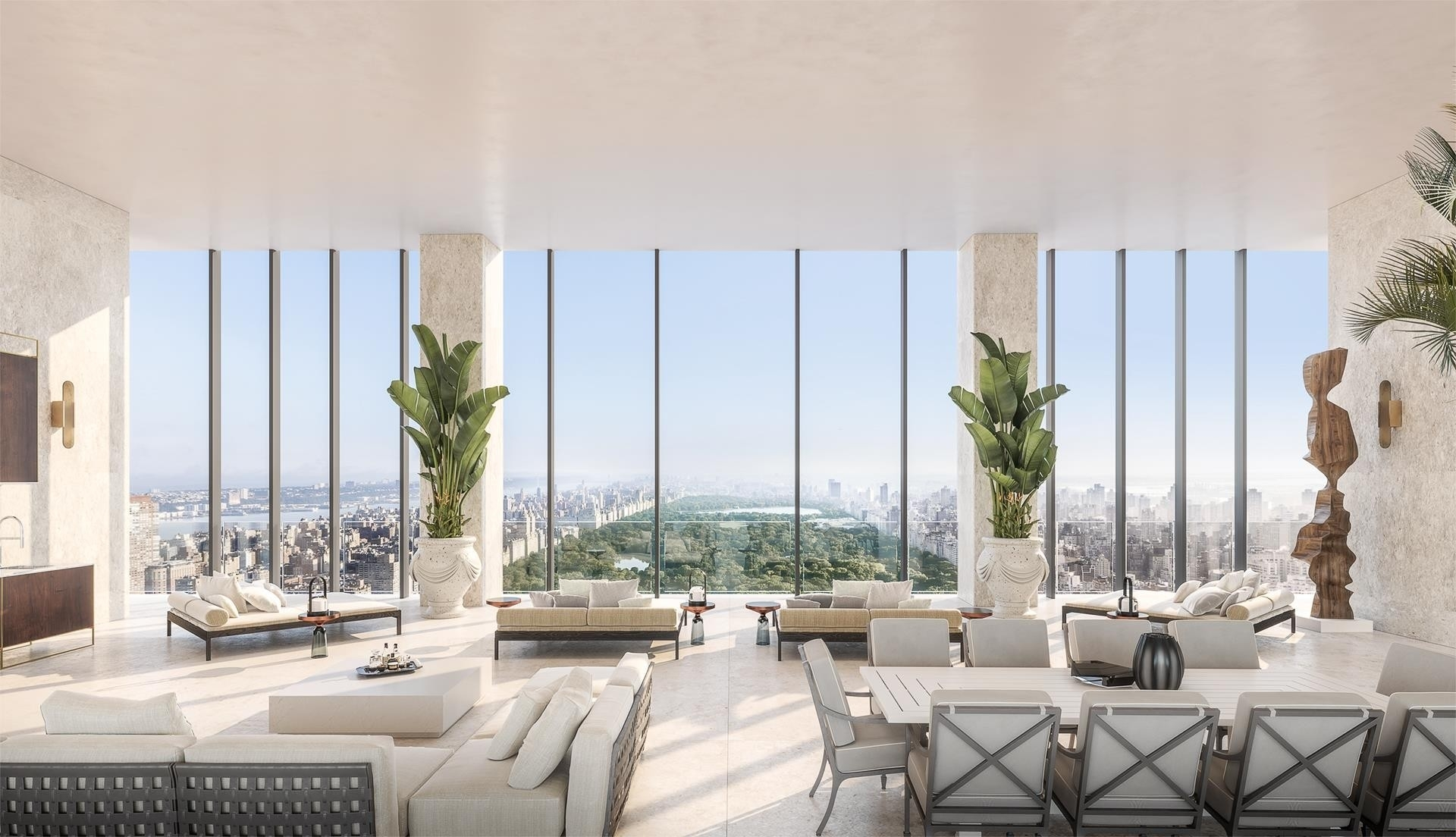 Condominium por un Venta en 111 West 57th St, PH72 Midtown West, New York, NY 10019