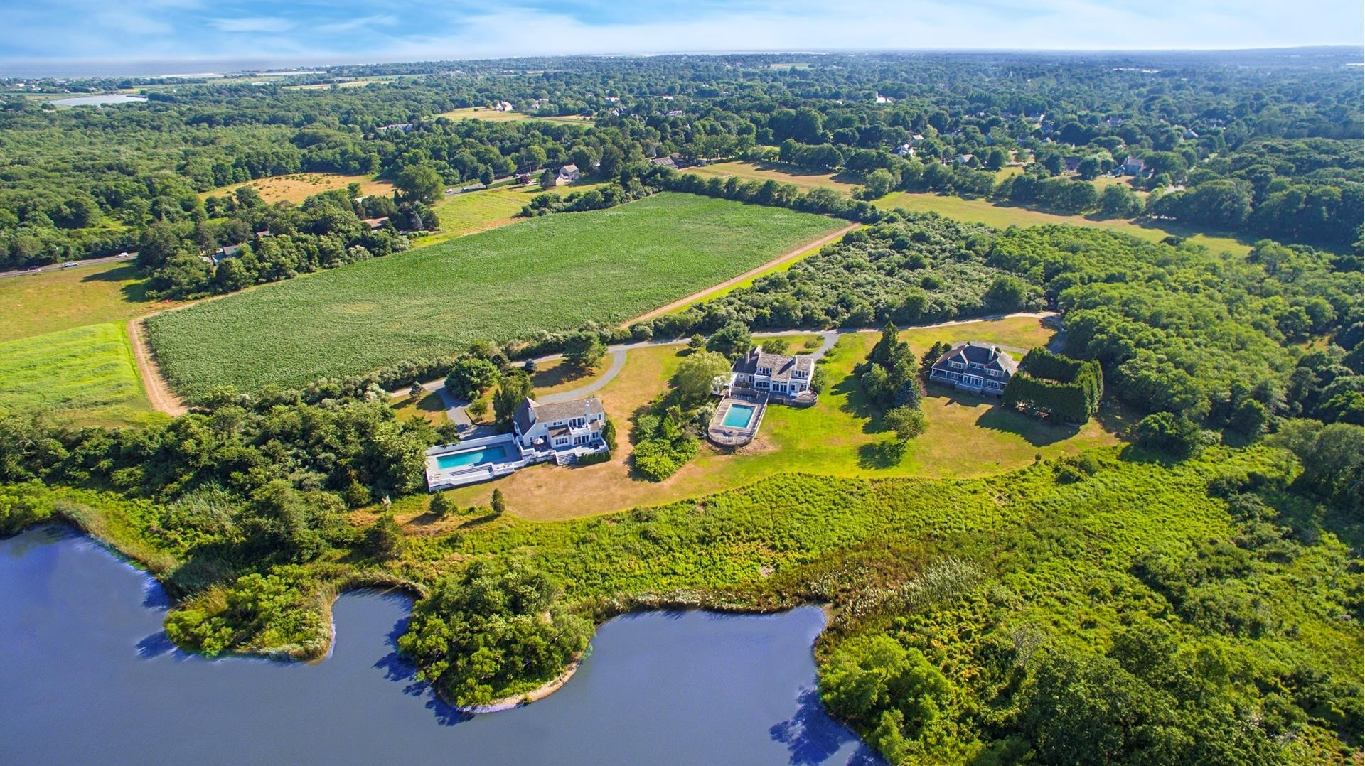 2. Single Family Homes for Sale at Sagaponack Village, NY 11962
