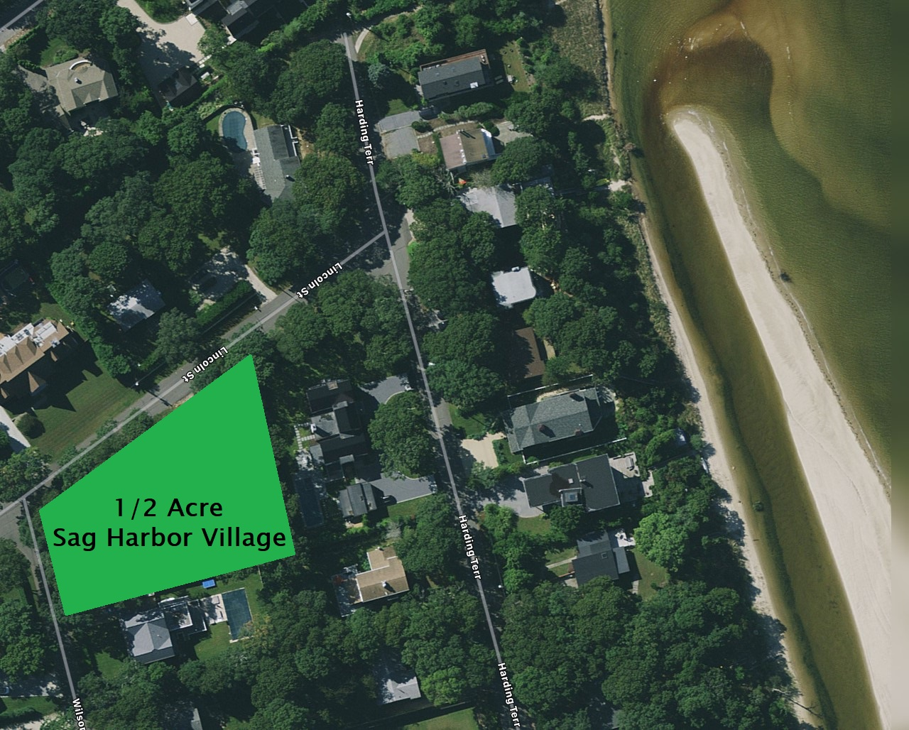 1. Land for Sale at Sag Harbor Village, Sag Harbor, NY 11963