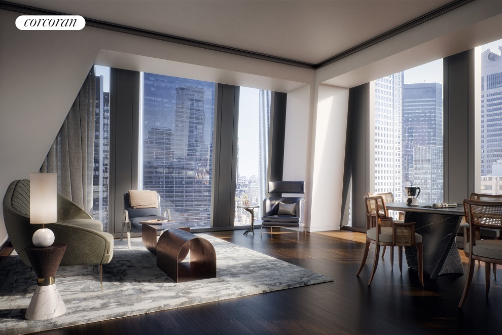 Condominium at 53W53, 53 West 53rd St, 33A New York