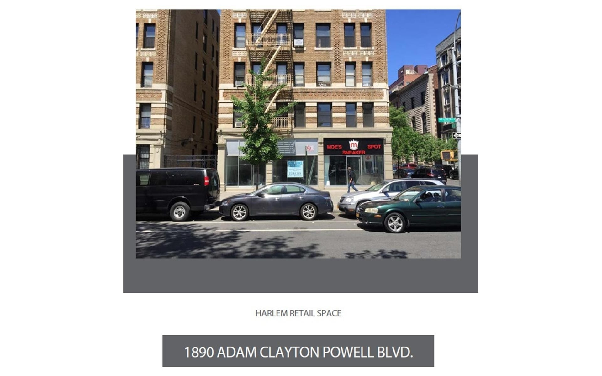 1. Retail Leases at The Strathmore, 1890 Adam C Powell Boulevard, RETAIL New York