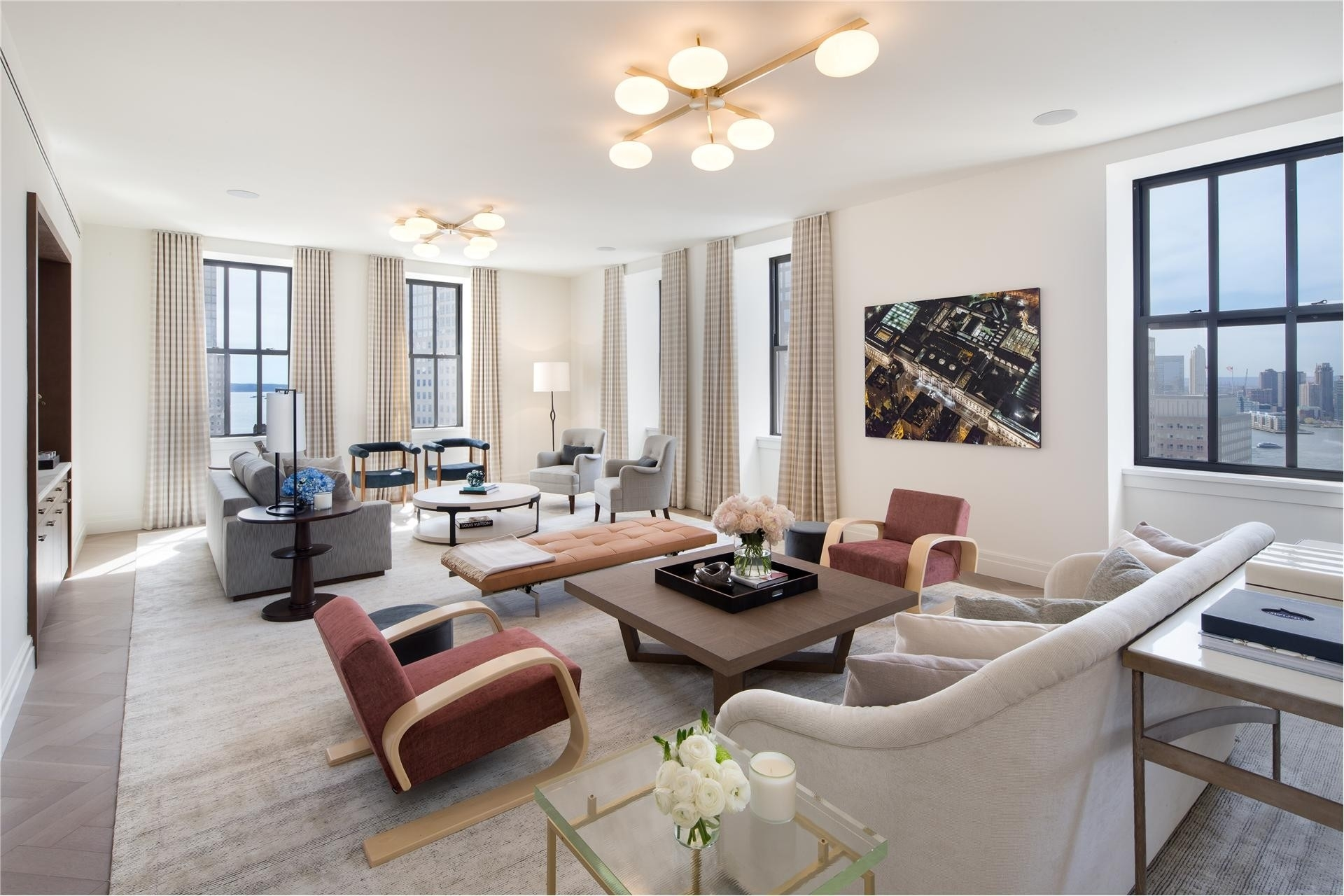Condominium at One Hundred Barclay Tribeca, 100 Barclay St, 15R TriBeCa, New York